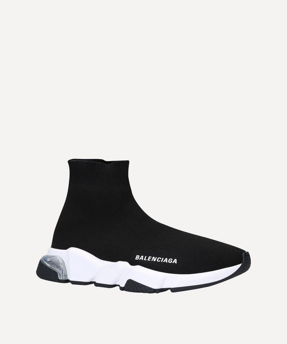 Balenciaga - Speed Mid-Top Bubble Sneakers