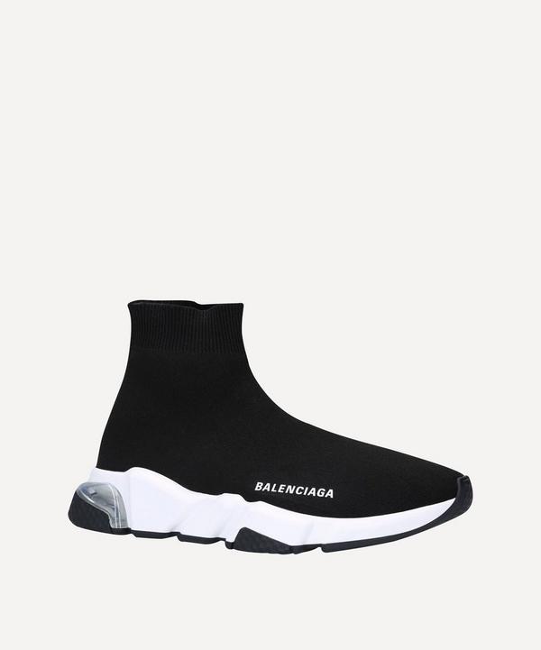 Balenciaga - Speed Mid-Top Bubble Sneakers