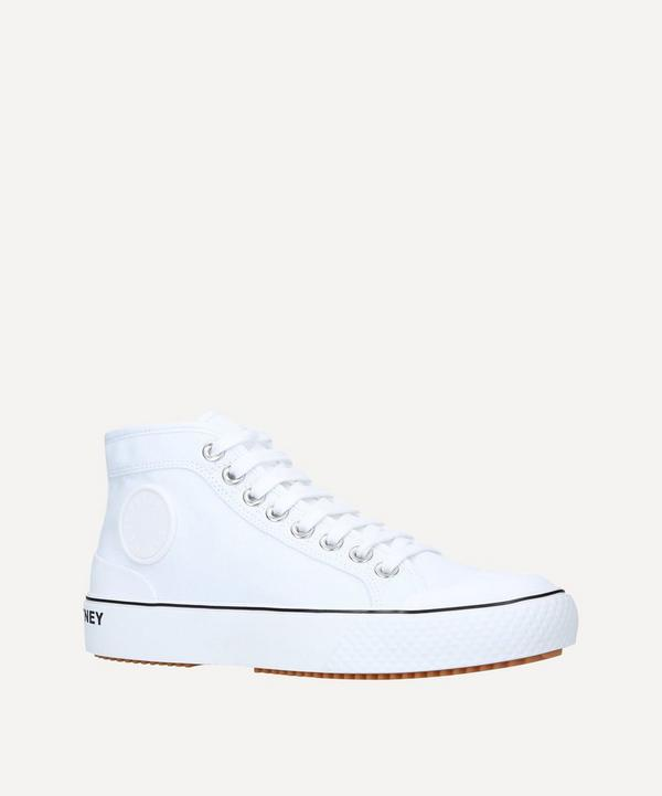 Stella McCartney - Futeni-Funchi Organic Cotton High-Top Sneakers
