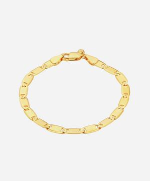 Gold-Plated Medina Medium Chain Bracelet