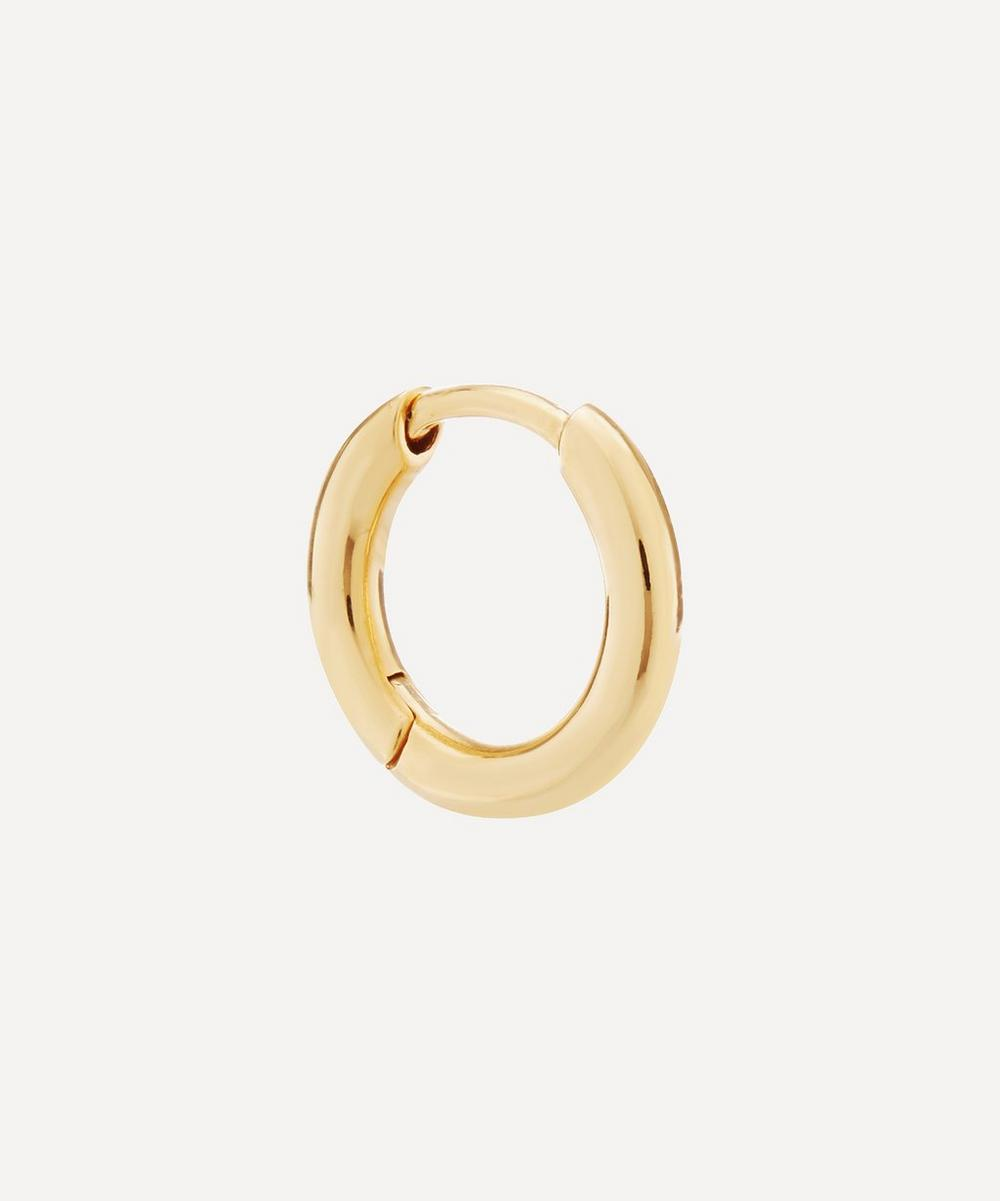 Maria Black - Gold-Plated Marco Huggie Hoop Earring