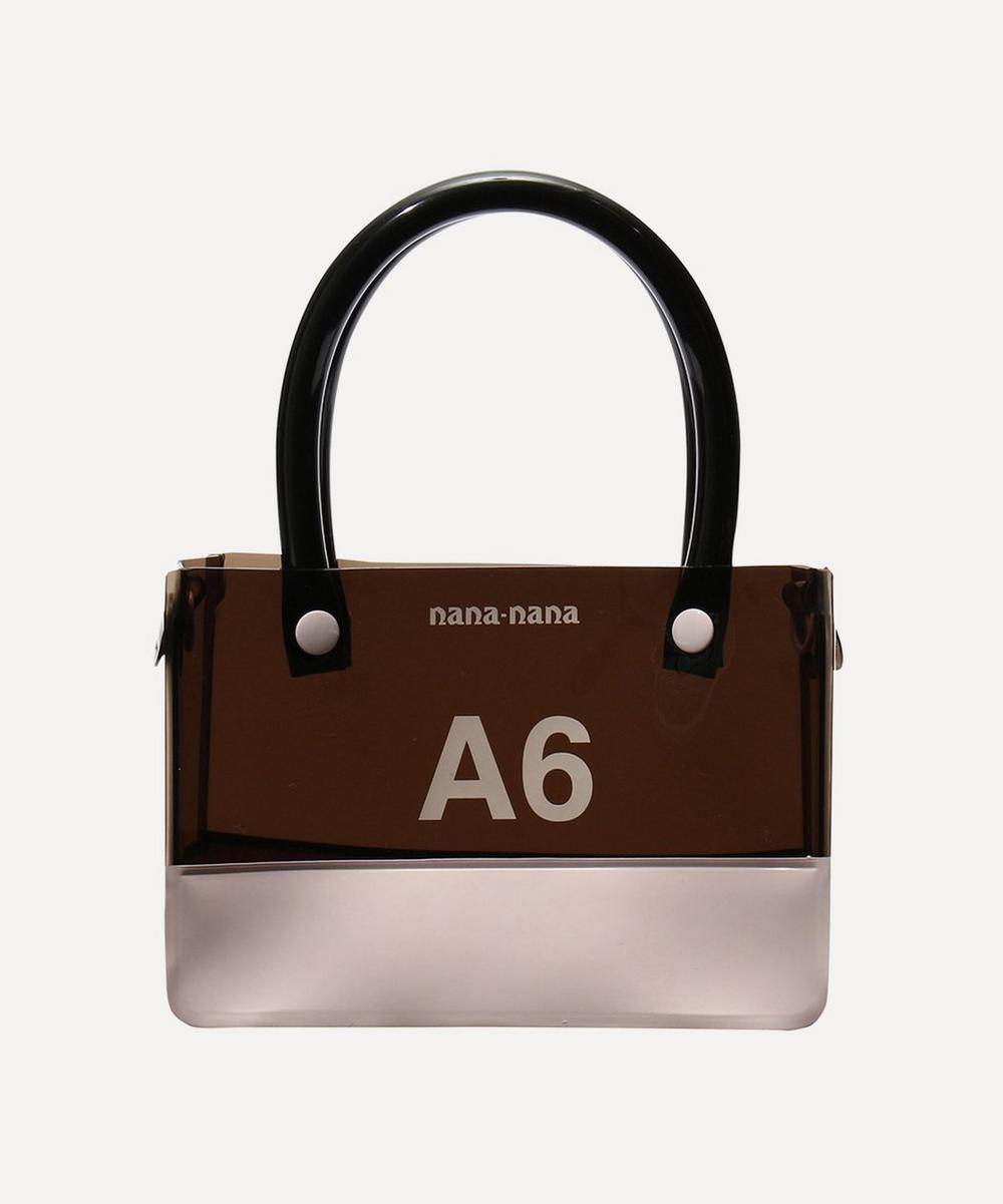 nana-nana - PVC Opaque A6 Cross-Body Bag