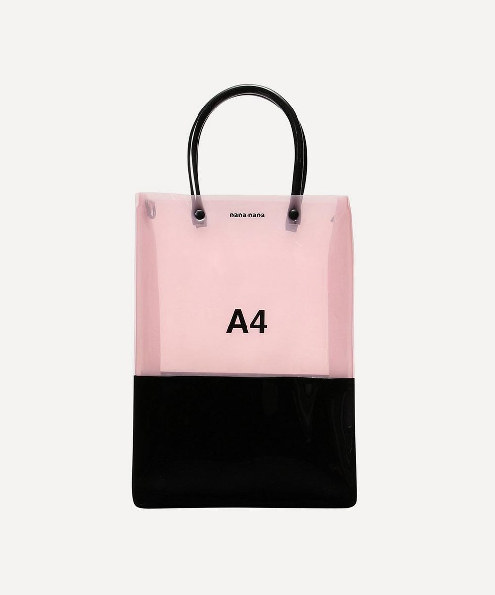 nana-nana - PVC A4 Cross-Body Bag