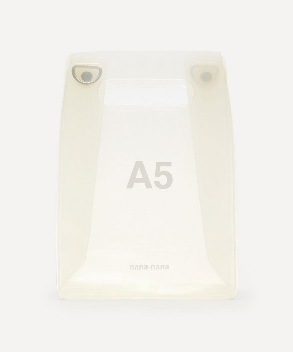 nana-nana - PVC A5 Cross-Body Bag