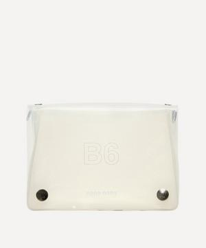 PVC B6 Cross-Body Bag