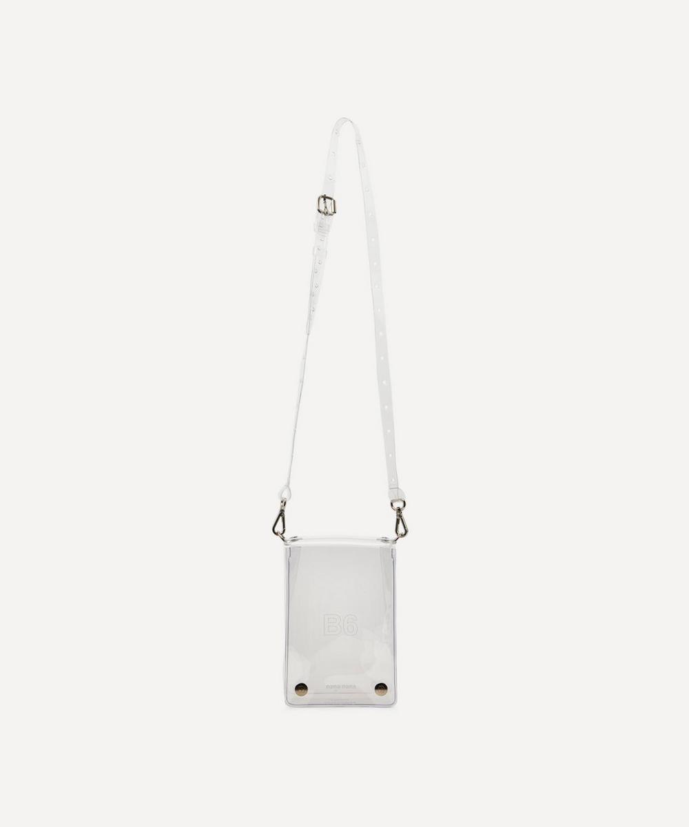 nana-nana - PVC B6 Cross-Body Bag