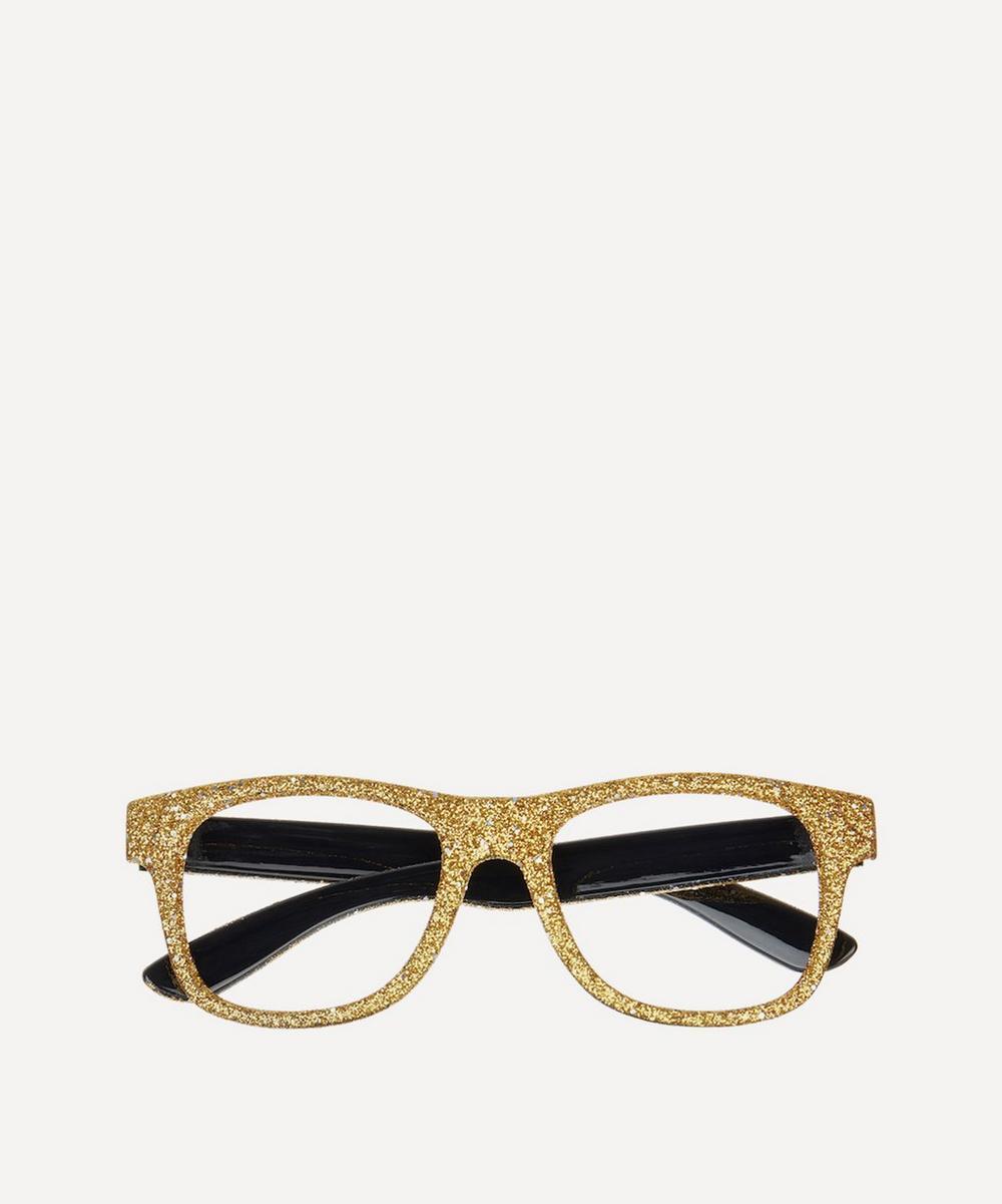 Mimi & Lula - Gold-Tone Glitter Glasses