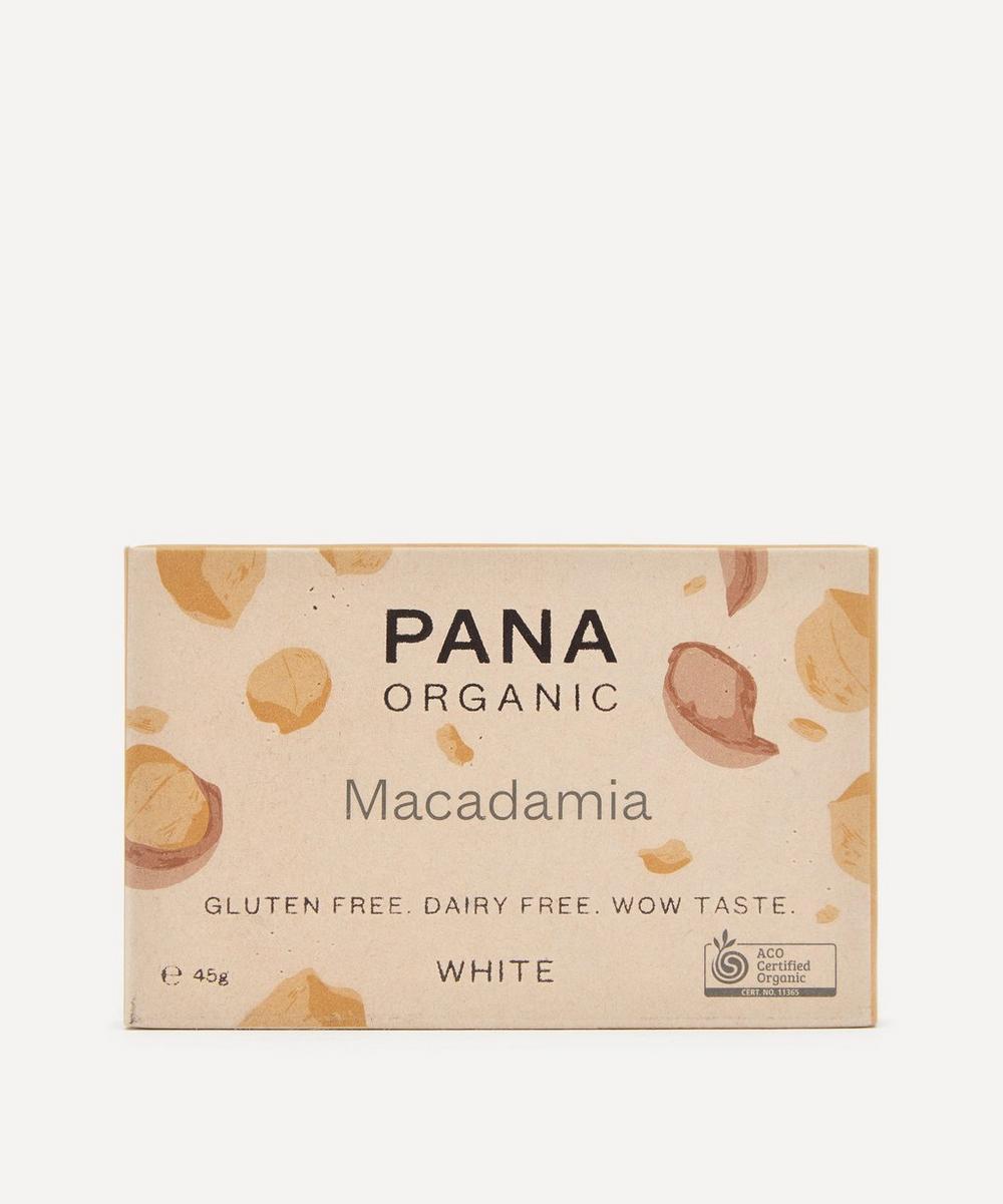 Pana Organic - White Macadamia Chocolate Bar 45g
