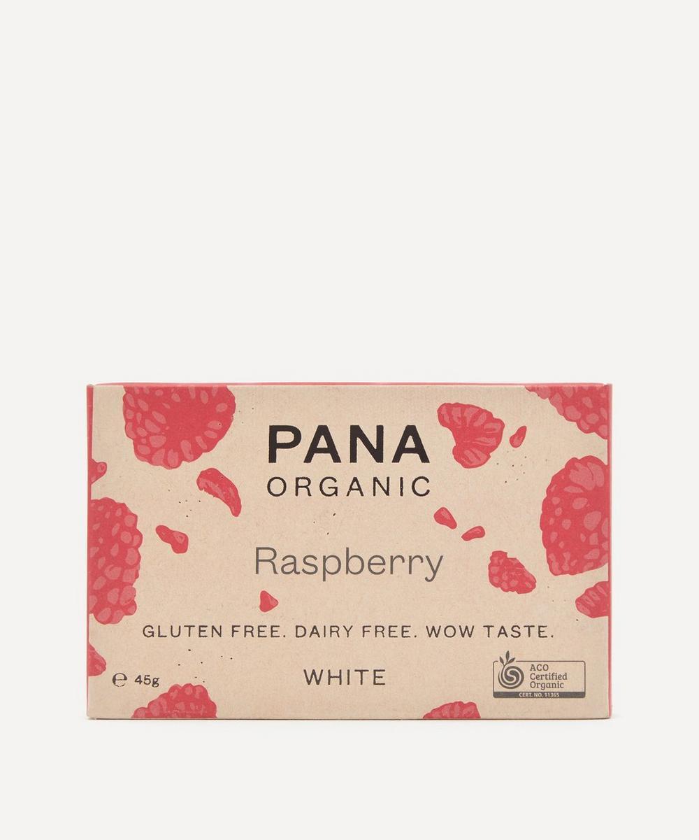 Pana Organic - White Raspberry Chocolate Bar 45g