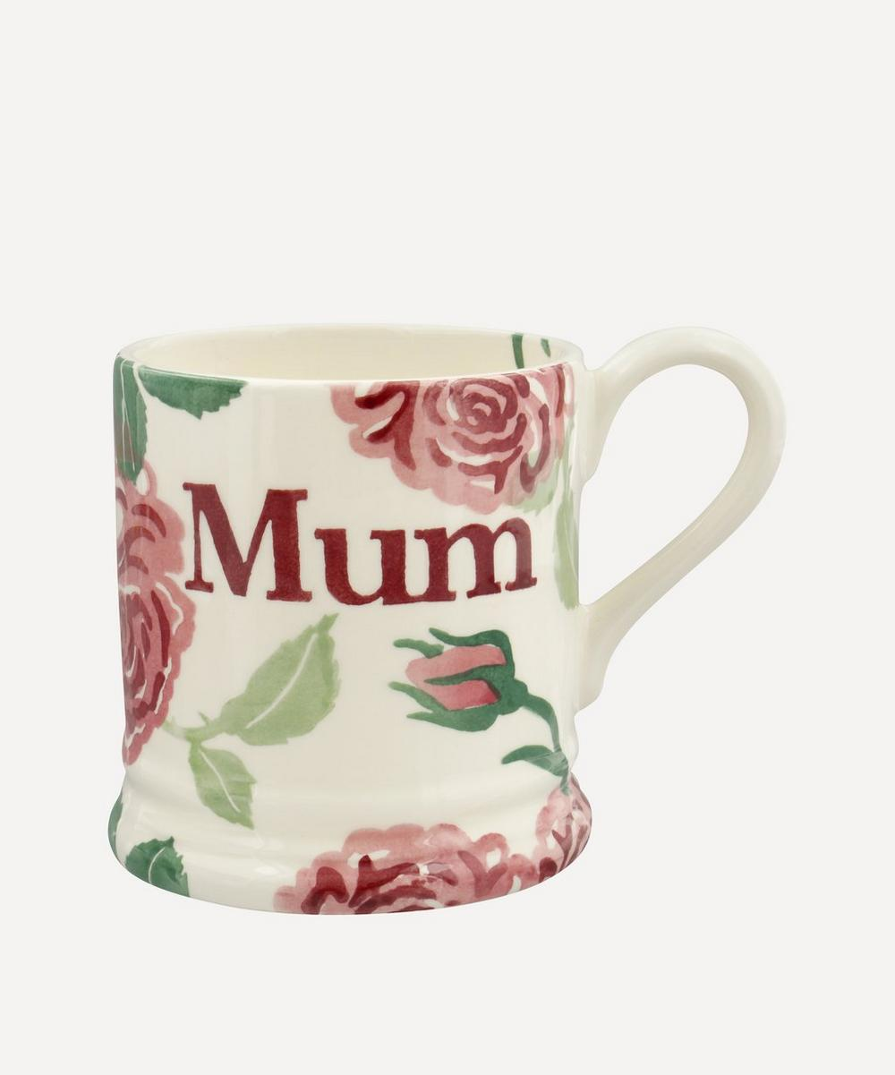 Emma Bridgewater - Pink Roses Mum Boxed Half-Pint Mug