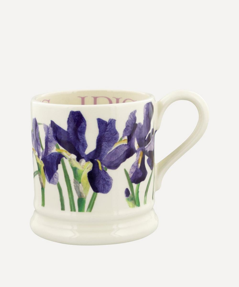 Emma Bridgewater - Flowers Blue Iris Half-Pint Mug