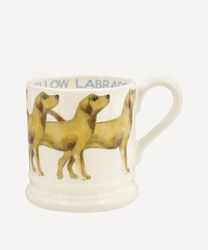 Dogs Yellow Labrador Half-Pint Mug