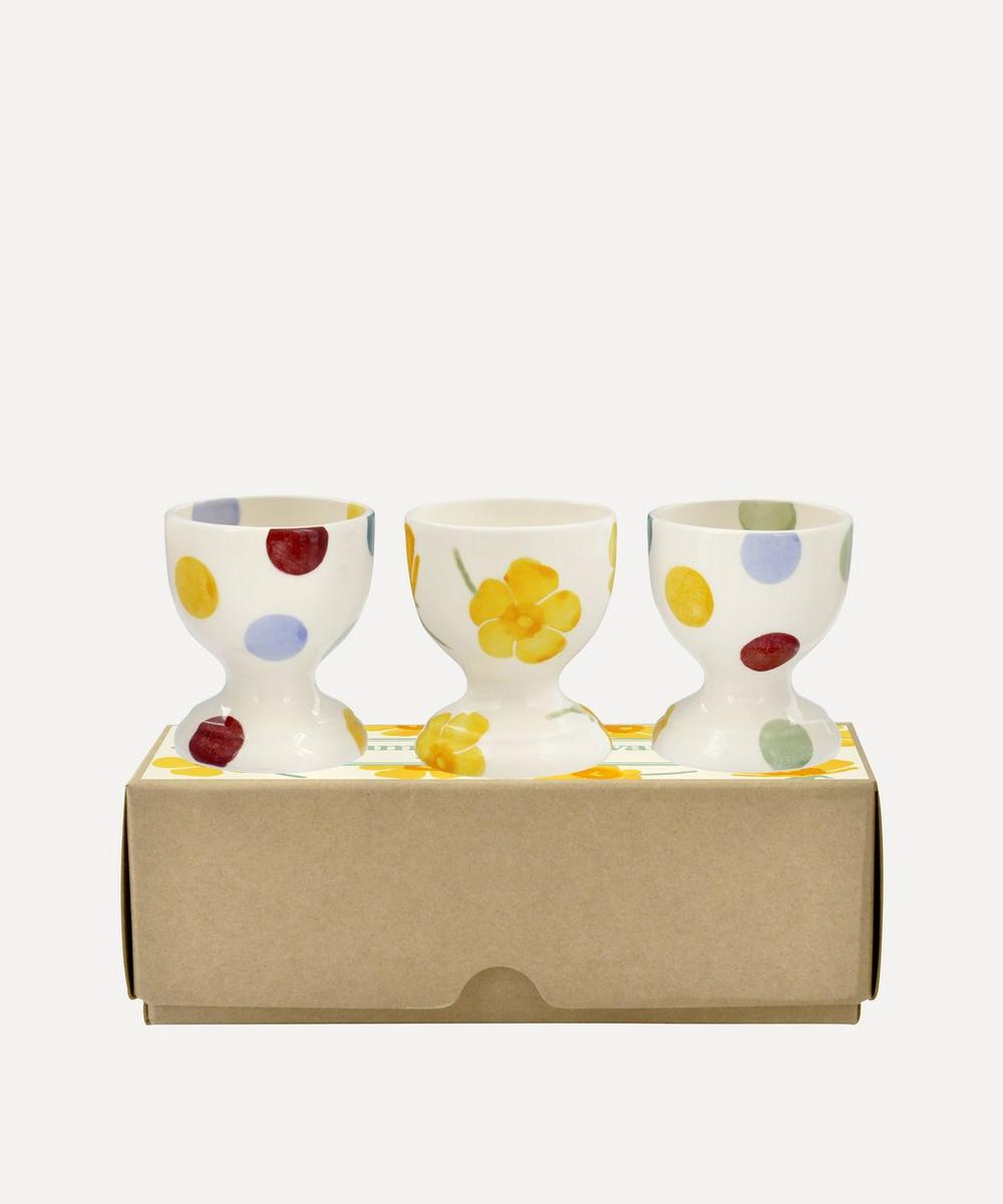 Emma Bridgewater - Buttercup Scattered Boxed Egg Cups Set of Three