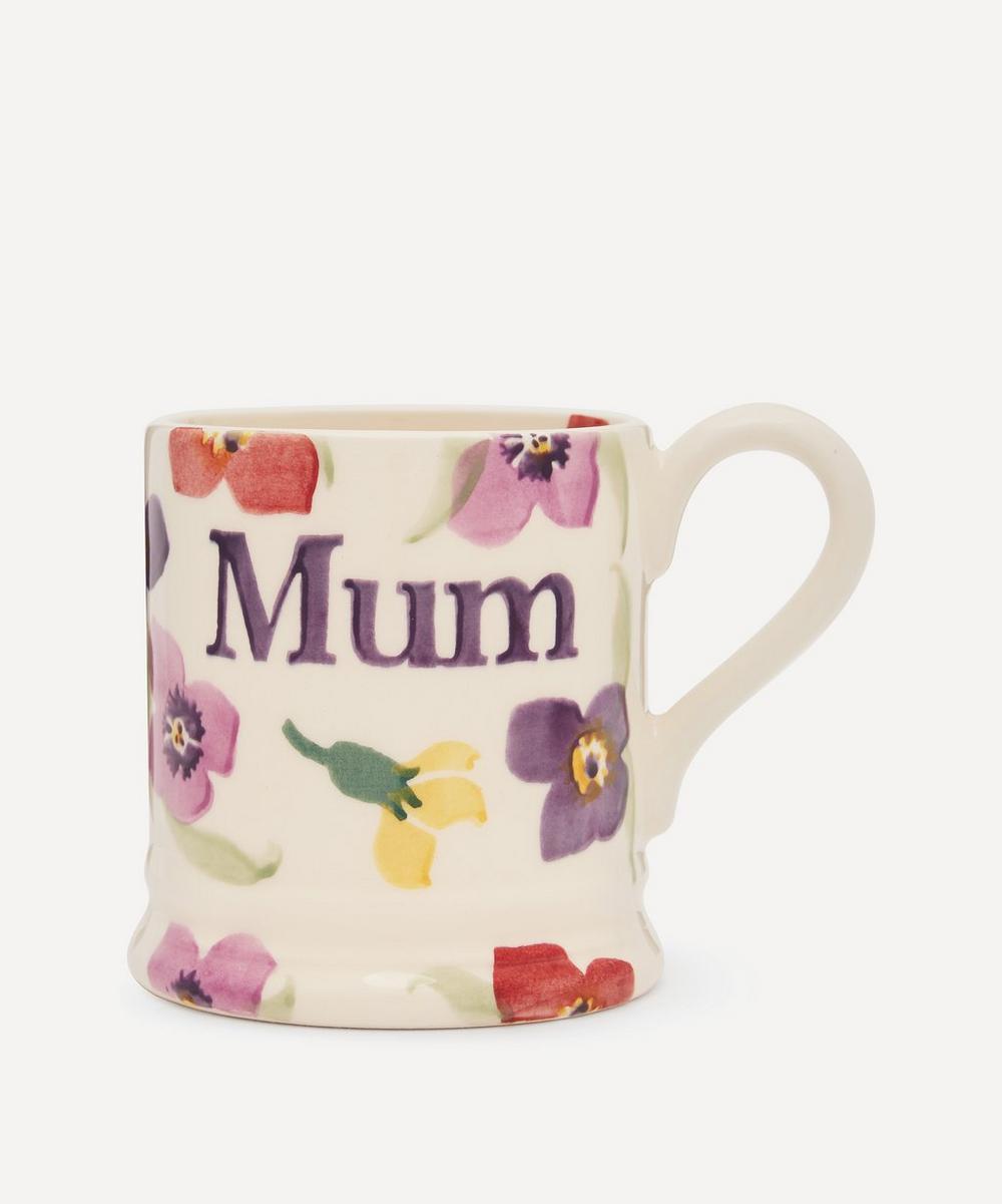 Emma Bridgewater - Wallflower Mum Boxed Half-Pint Mug