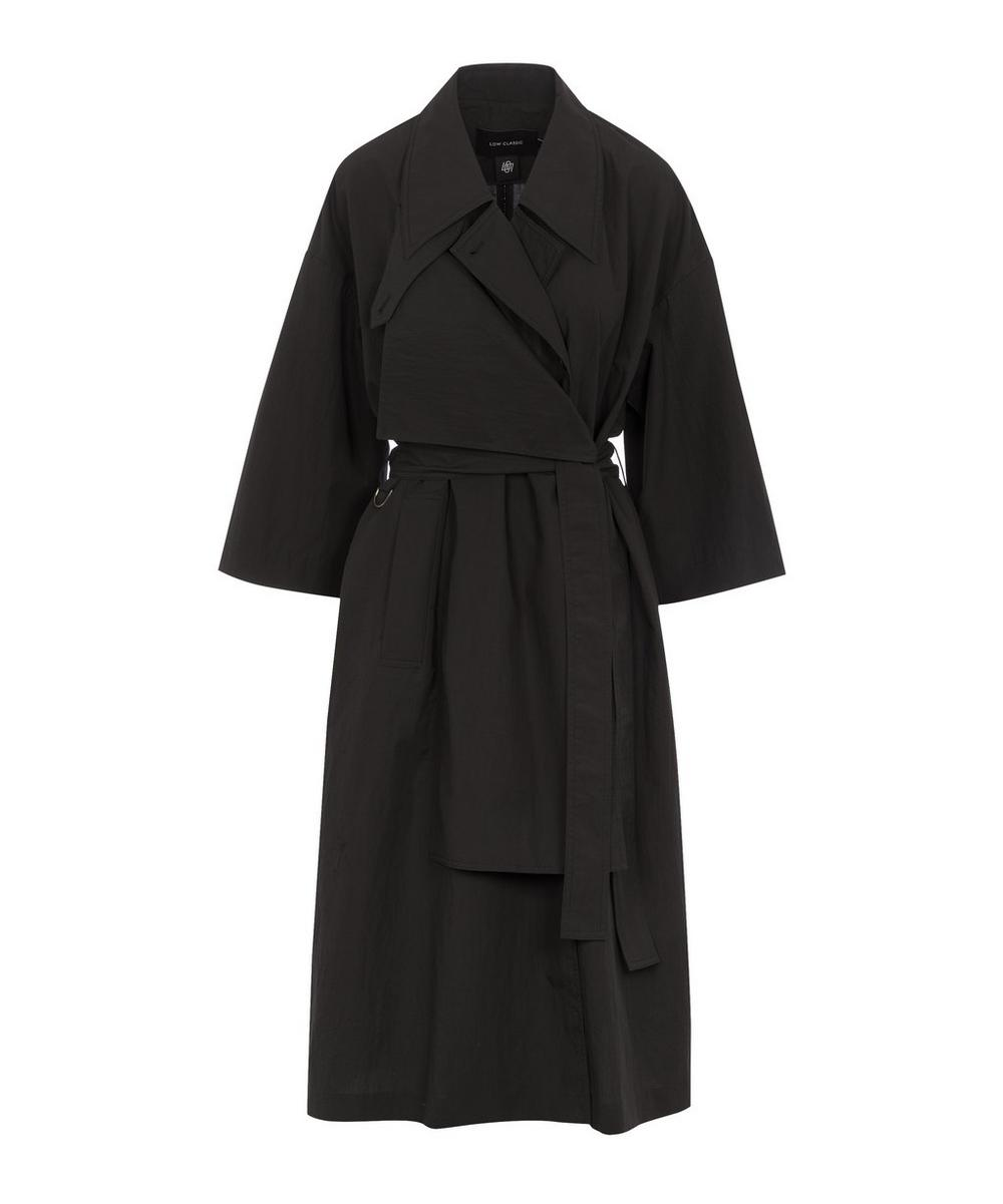 LOW CLASSIC - Two-Way Cotton-Blend Trench Coat