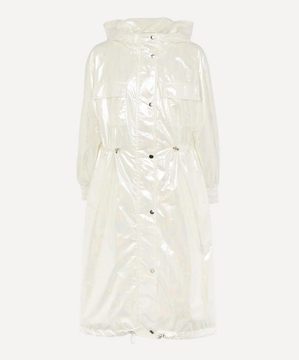 STAND STUDIO - Savanna Shimmery Oil Hooded Parka