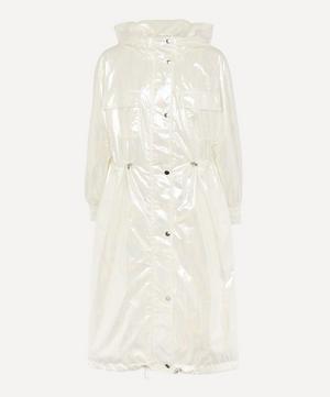 Savanna Shimmery Oil Hooded Parka
