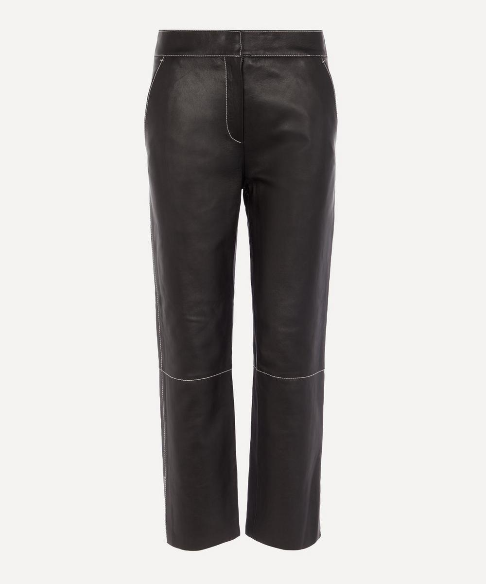 STAND STUDIO - Zoe Lamb Leather Trousers