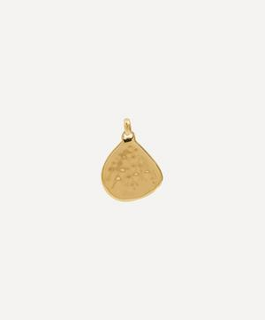 Gold Plated Vermeil Silver Siren Large Pendant Charm