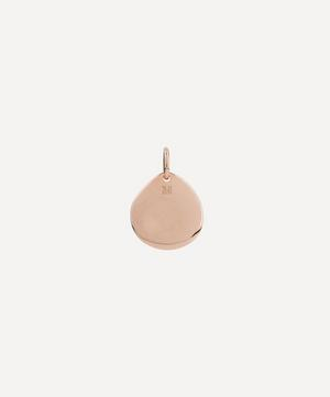Rose Gold Plated Vermeil Silver Siren Small Pendant Charm