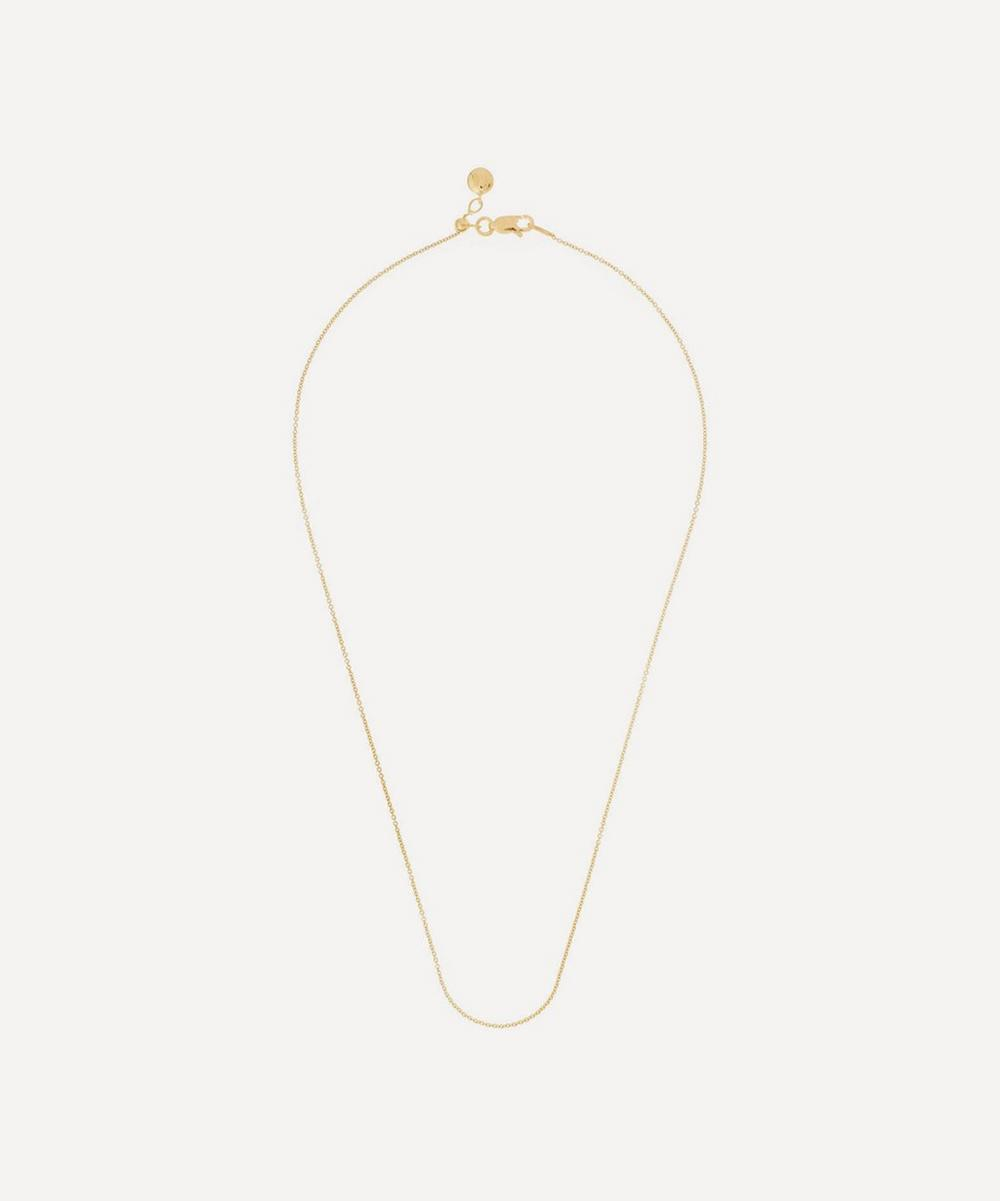 Monica Vinader - Gold Plated Vermeil Silver Short Rolo Chain