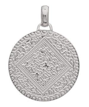 Silver Marie Mini Pendant Charm