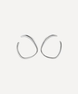 Silver Nura Reef Wrap Earrings