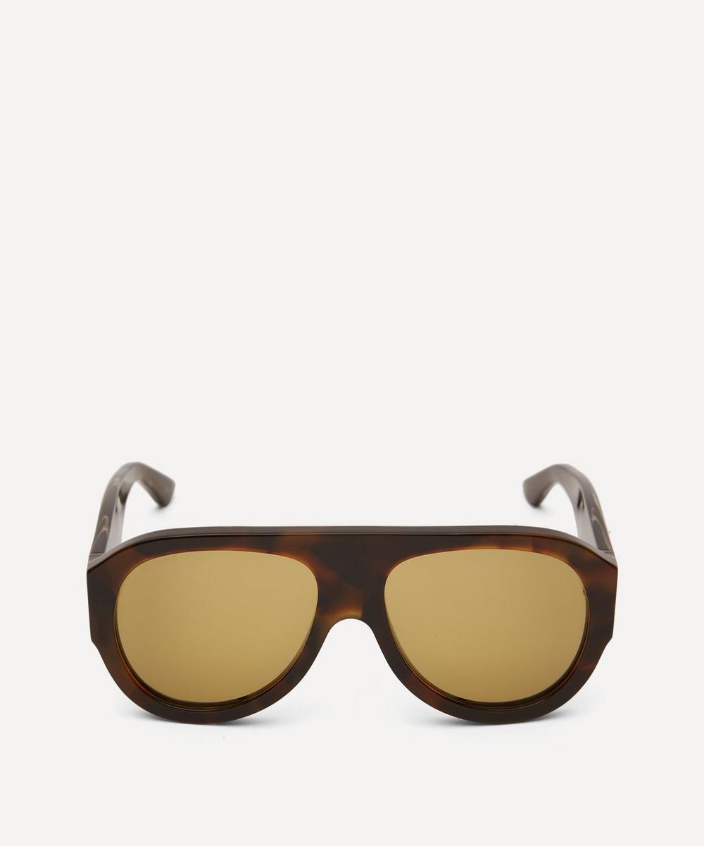 Gucci - Bold Aviator Acetate Sunglasses