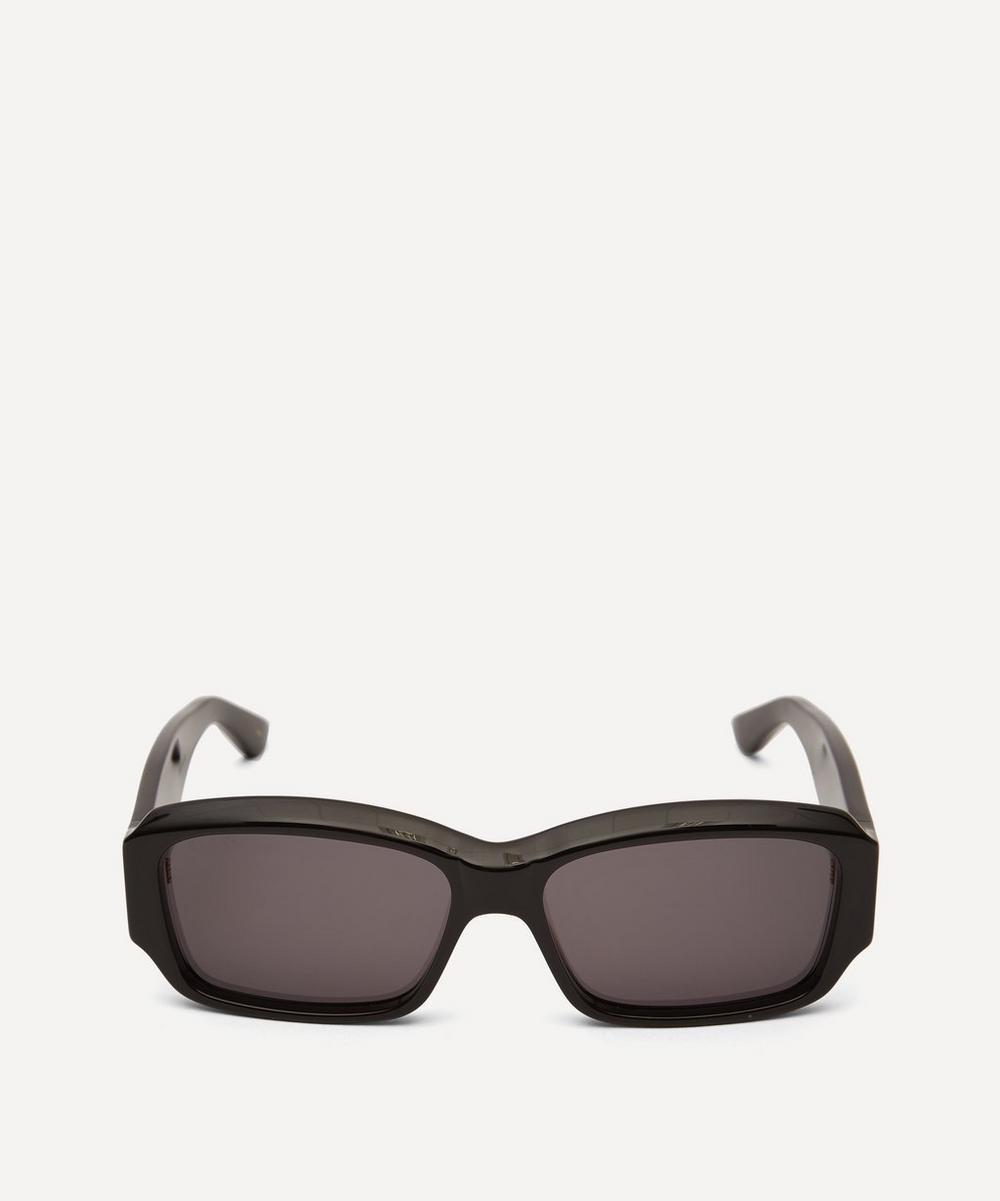 Gucci - Bold Rectangular Acetate Sunglasses