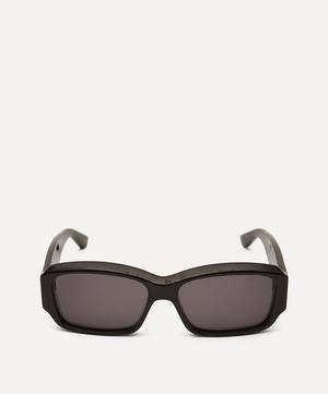 Bold Rectangular Acetate Sunglasses