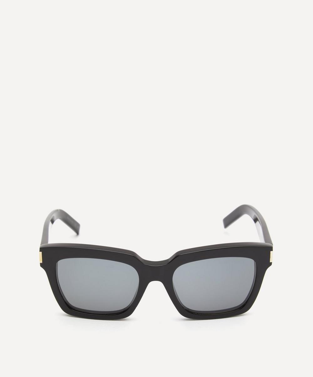 Saint Laurent - Thick Square-Frame Acetate Sunglasses