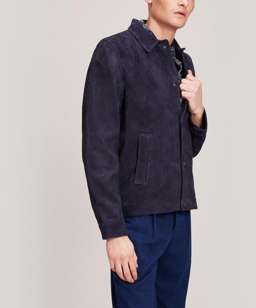 Officine Générale - Coash Soft Suede Jacket