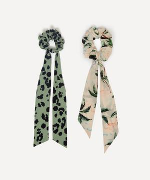Printed Scrunchies Set of Two