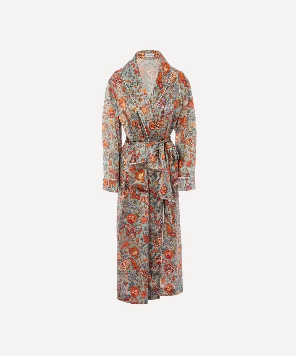 Liberty - Tree of Life Silk Charmeuse Robe