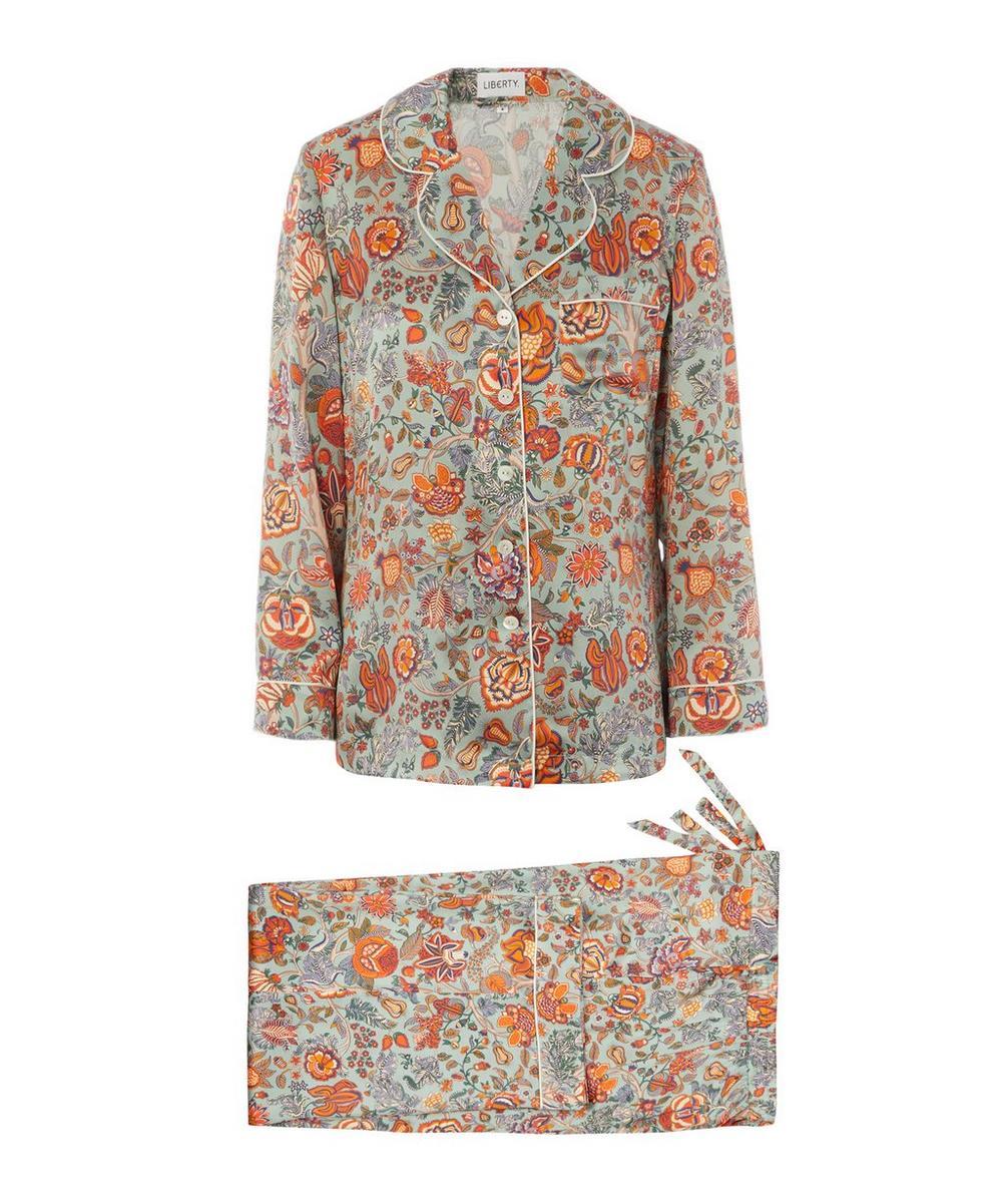 Liberty - Tree of Life Silk Charmeuse Pyjama Set