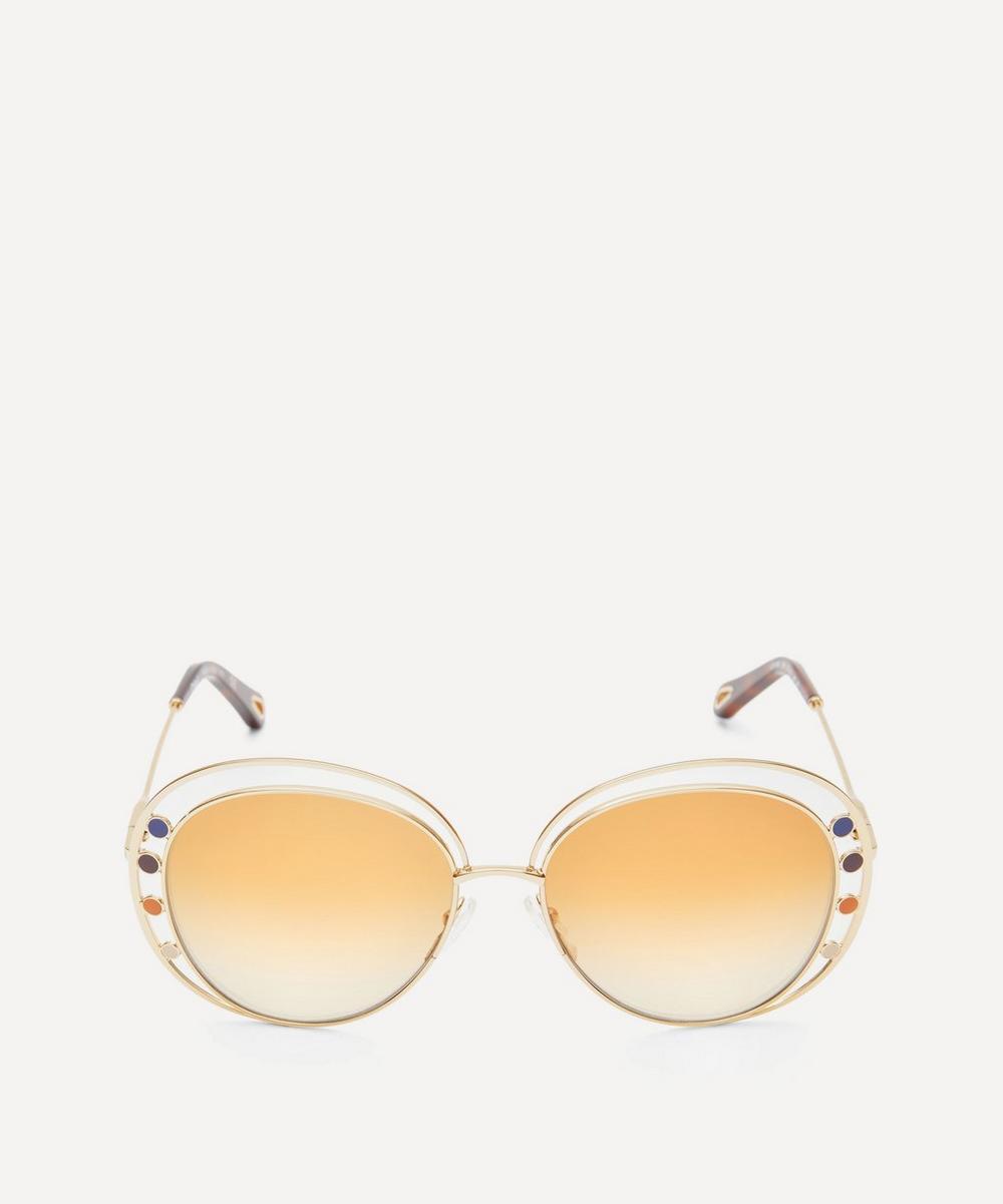Chloé - Delilah Aviator Sunglasses