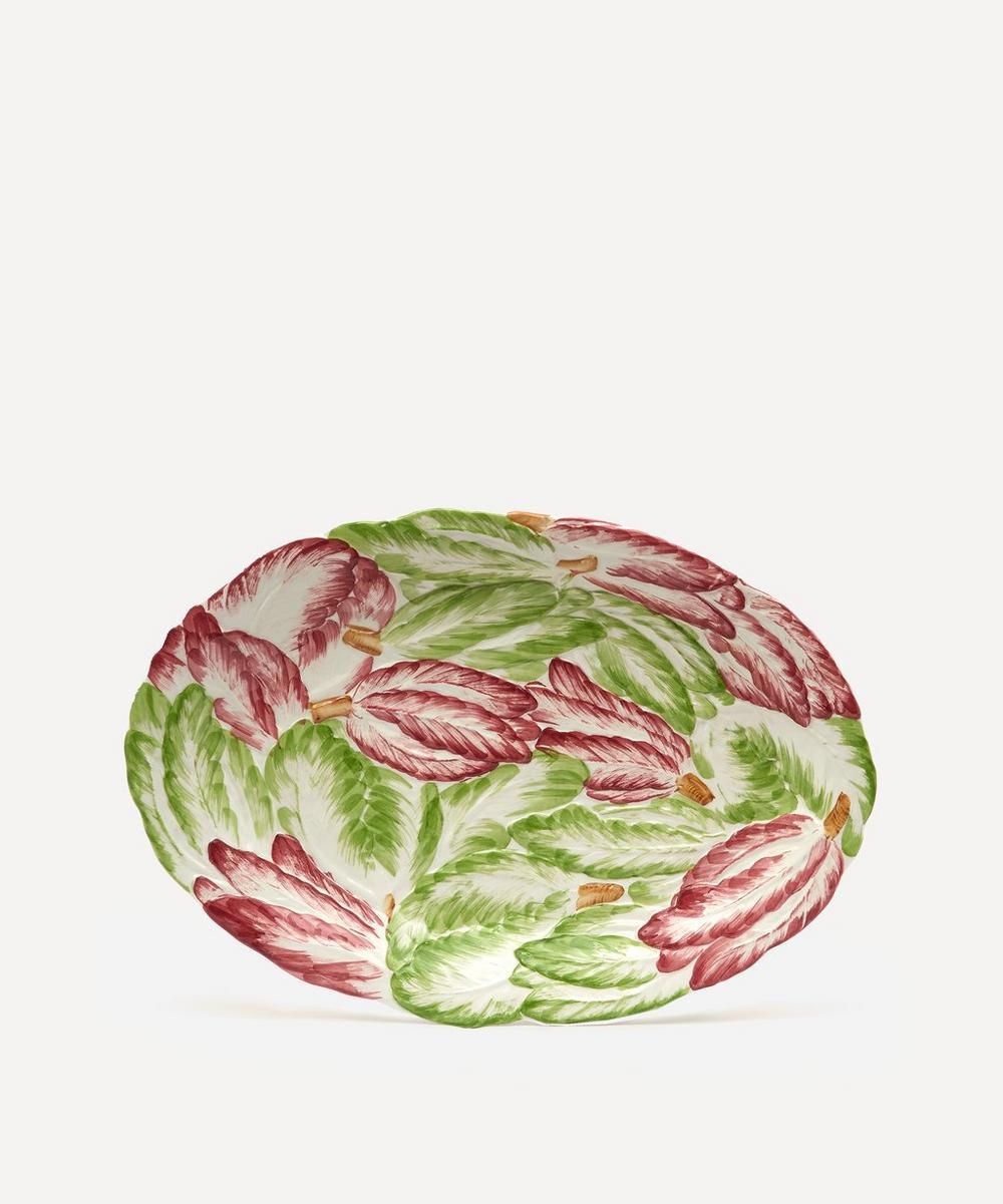 Unspecified - Raddichio Oval Platter