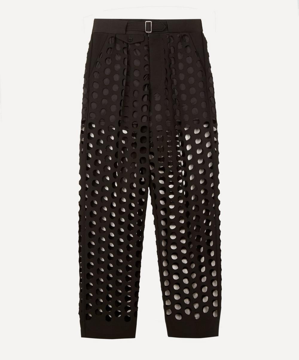 Maison Margiela - Runway Hole Punch Trousers