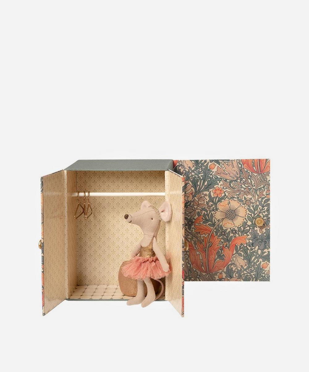 Maileg - Dance Room with Big Sister Mouse Toy