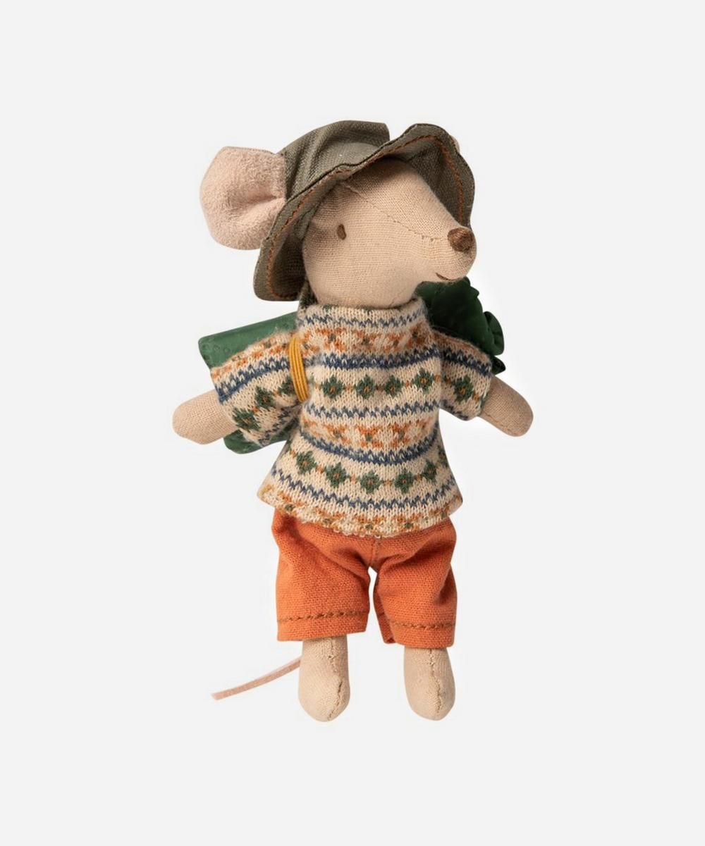 Maileg - Hiker Big Brother Mouse Toy
