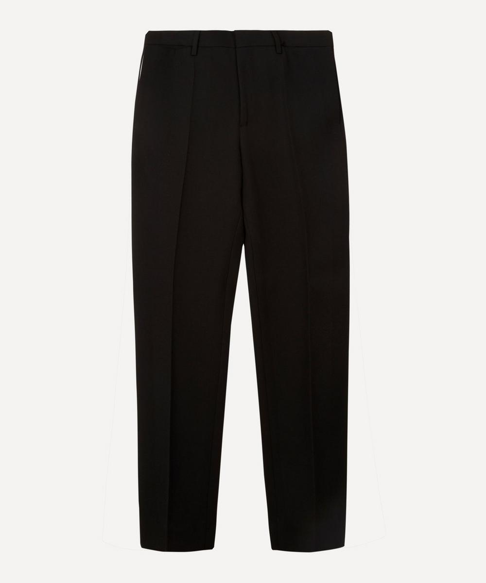 Burberry - Straight Leg Formal Wool Trousers
