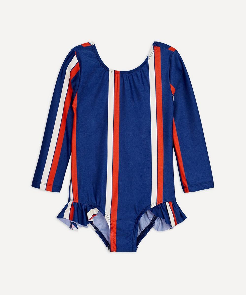 Mini Rodini - Stripe Long-Sleeved Swimsuit 2-8 Years