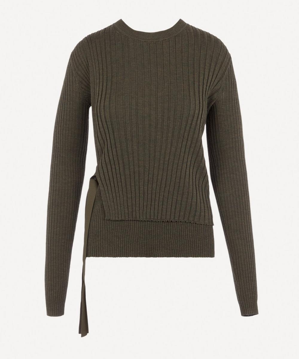 Helmut Lang - Layered Wrap Knit