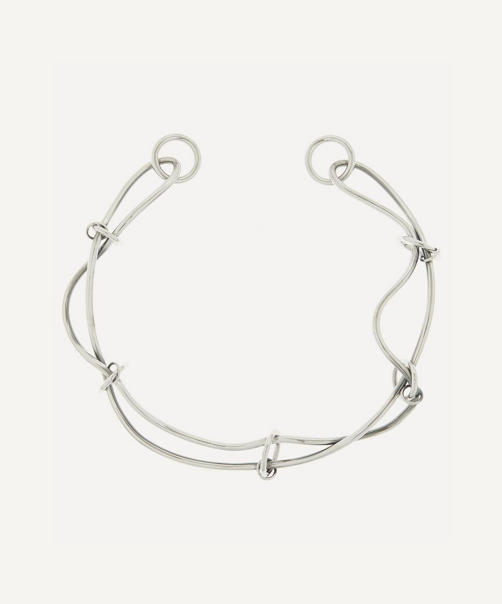 Alexander McQueen - Silver-Tone Metal Wire Choker