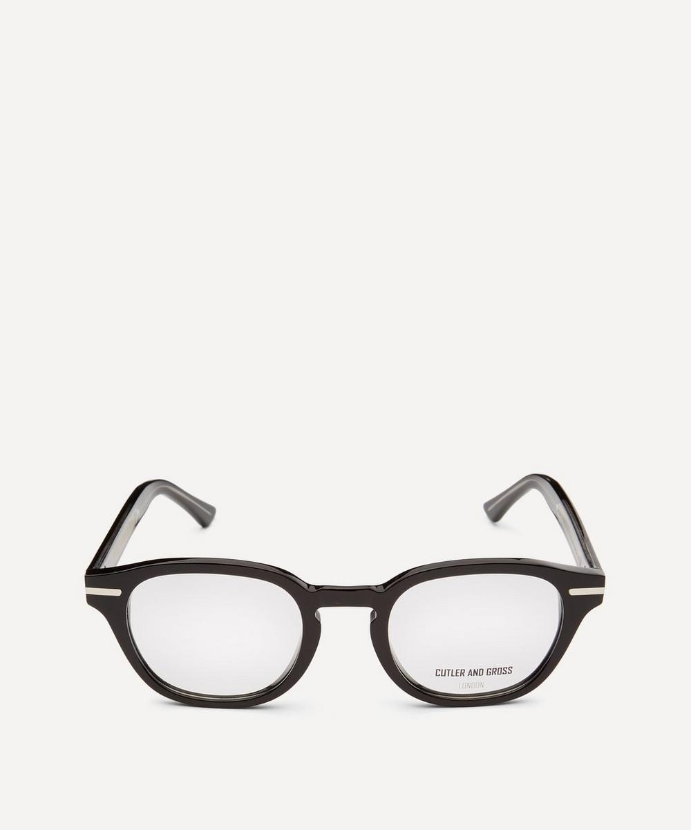Cutler And Gross - 1356-01 Round-Frame Optical Glasses