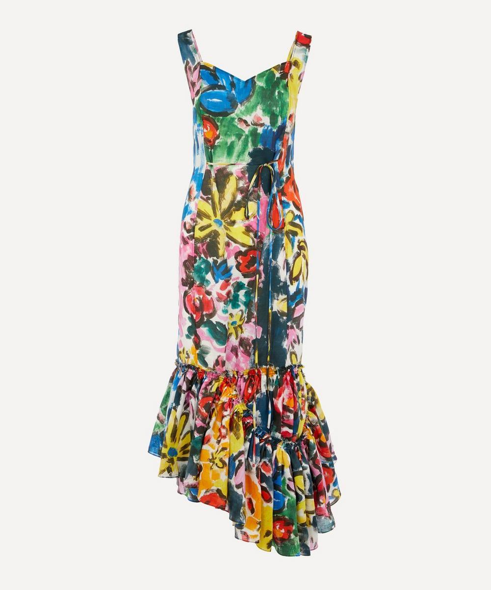 Marni - Carmen Print Ramie Dress