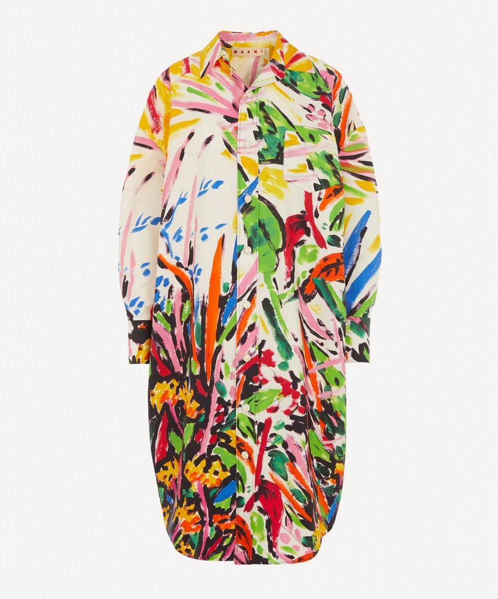 Marni - Printed Shirt Dress