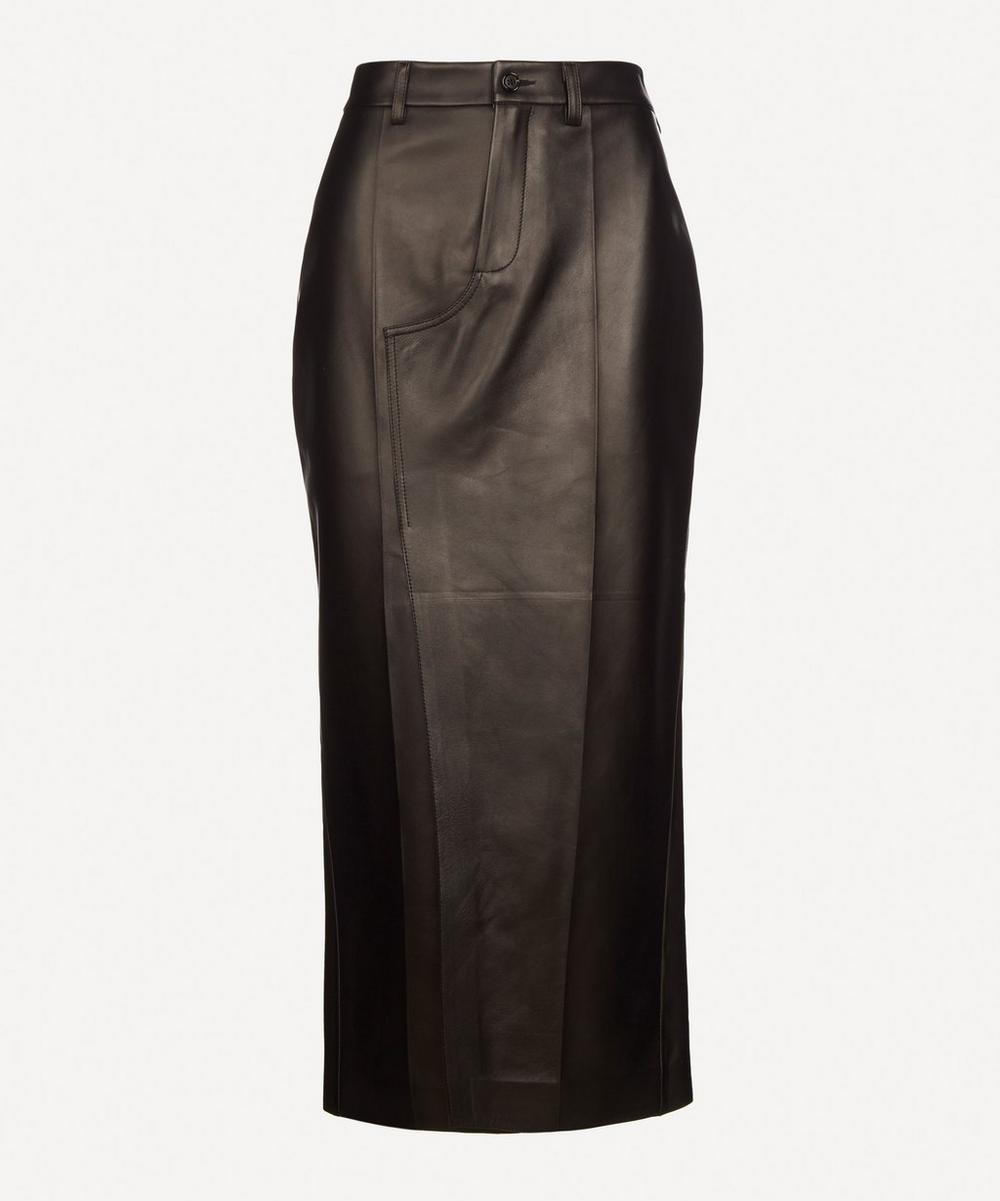 Marni - Leather Pencil Skirt