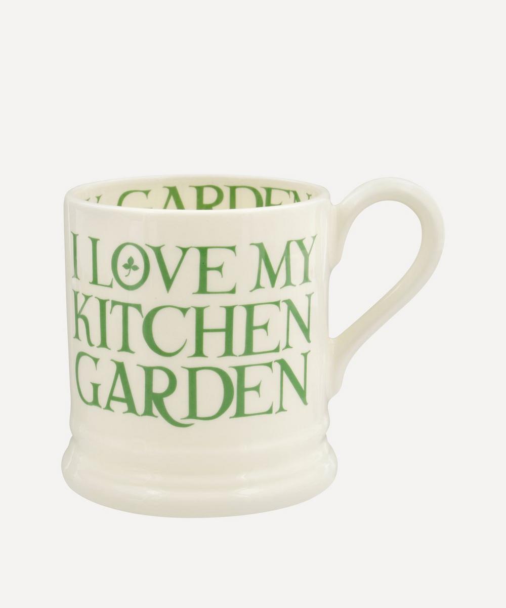 Emma Bridgewater - Organic & Green Kitchen Garden Half-Pint Mug