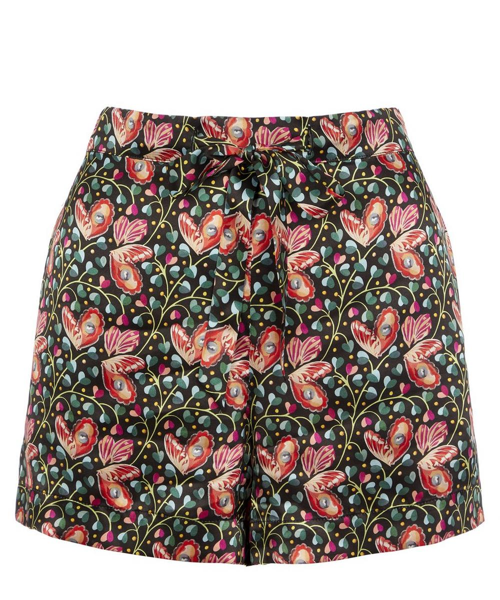Liberty - Coralie Relaxed Silk Shorts